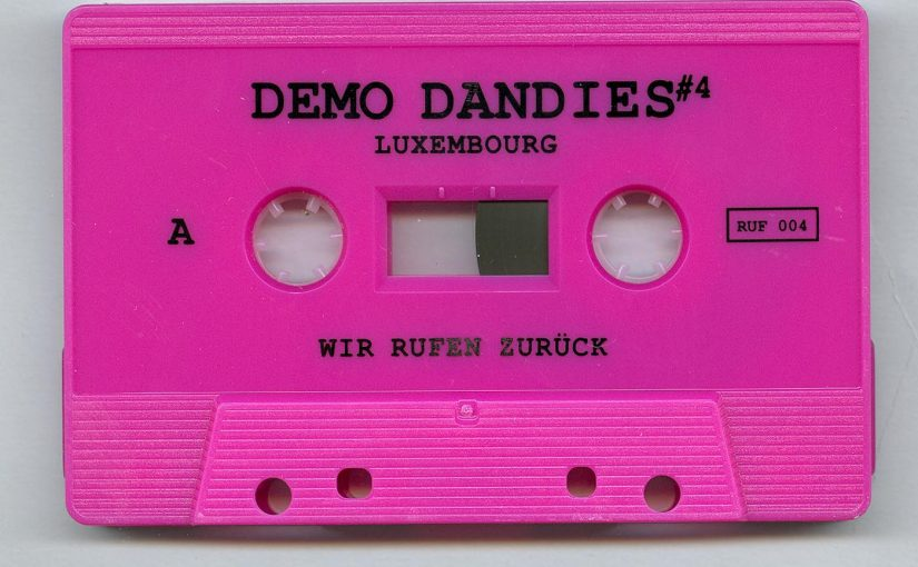 Demo Dandies #4 Tape Compilation Released